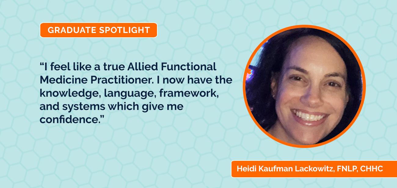 Full Body Systems Graduate Spotlight: Heidi Kaufman Lackowitz