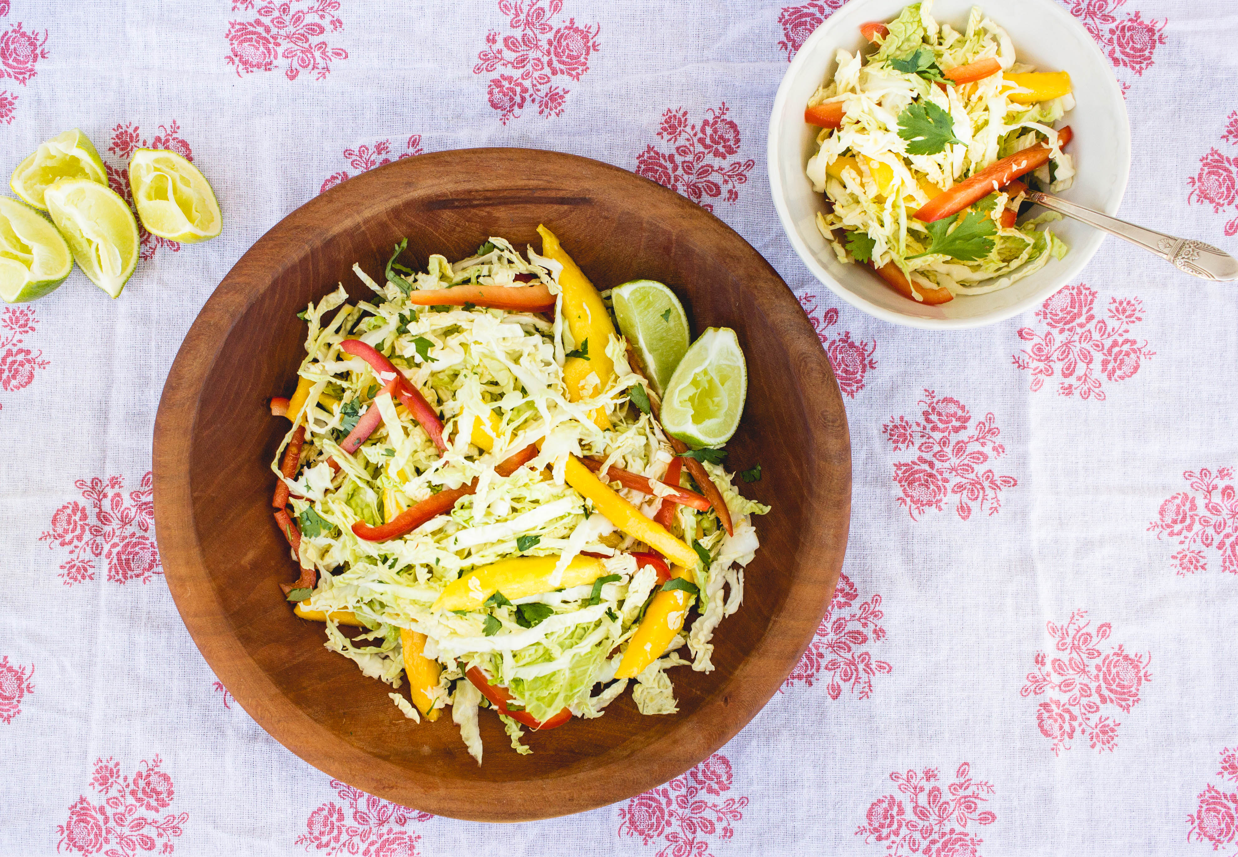 Mango Cabbage Cilantro Slaw | Functional Nutrition Alliance